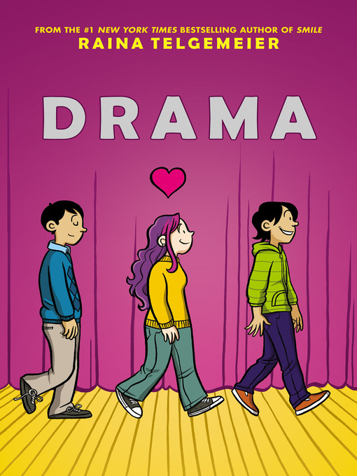 Title details for Drama by Raina Telgemeier - Wait list